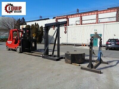 2010 Bristol Riggers Special Mfg Rs60 60000lbs Forklift With Riggers Boom