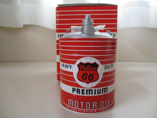 FIRST GEAR - PHILLIPS 66 PREMIUM MOTOR OIL - 1:4 SCALE FUEL / OIL CAN COIN BANK