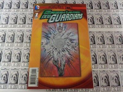 Green Lantern New Guardians Future's End (2014) DC - #1, 3D Lenticular CVR, NM