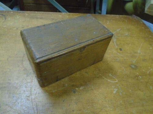 Vintage OAK Folding ROLL-OUT Singer SEWING Accessory PUZZLE Box