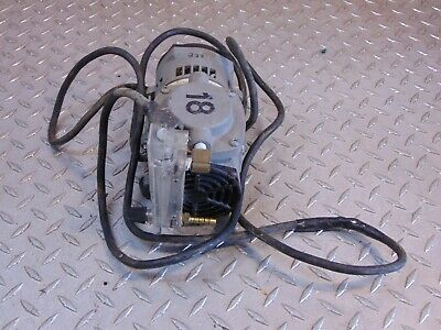 Thomas 107ca18tfe Vacuum Pump Compressor See Description