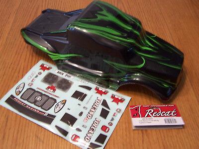 Redcat Racing 1/10 Volcano EPX EPX Pro Nitro S30 Grey Green Semi Truck RC Body