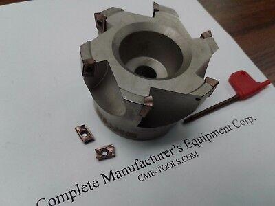 3 90 Degree Indexable Face Mill Shell Mill Sandvik R390-11t308 506-sdvk-3