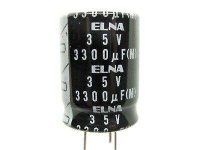 1000uf To 6800uf - 16v To 63v - 3-lead Electrolytic Capacitors - Elna Nos