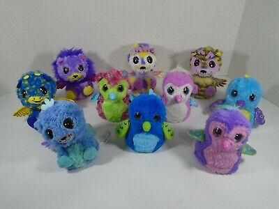 LOT OF 10--SPIN MASTER SURPRISE HATCHIMALS (LOOK)
