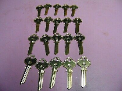 20 Keys  Eagle 1014a Keys Blanks Uncut  Locksmith