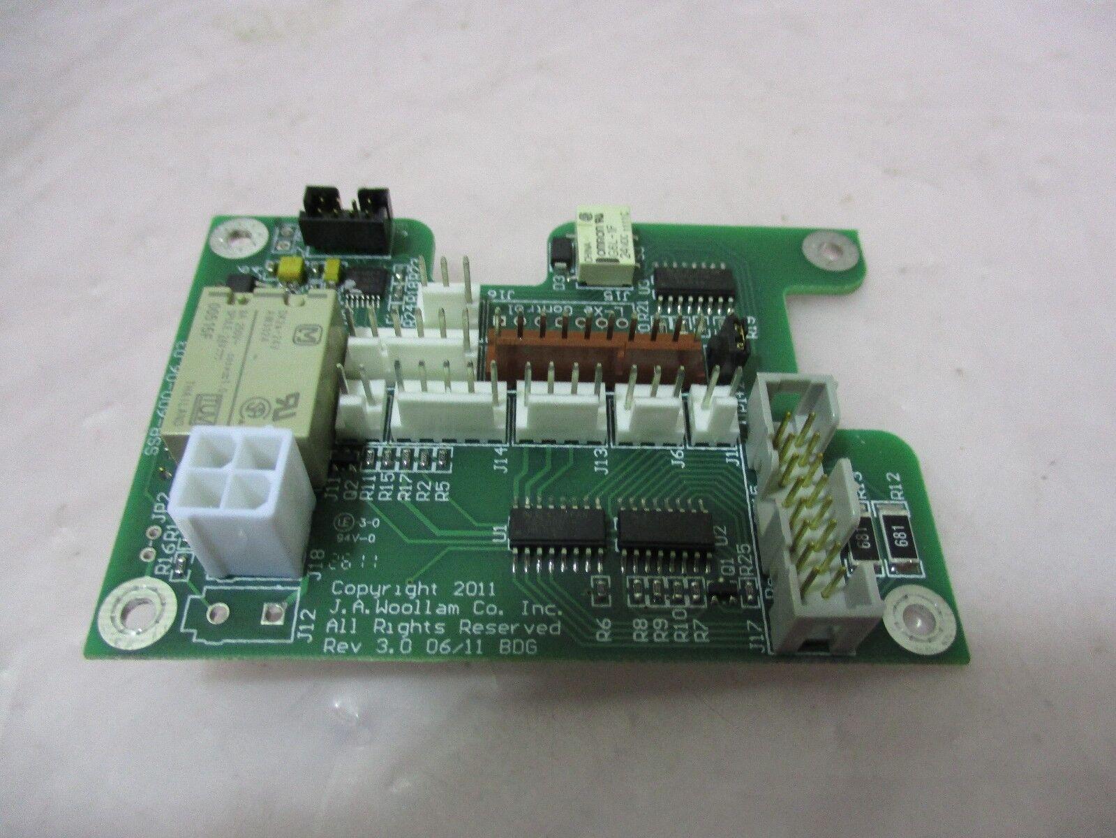 J.A. Woollam SSB-600-06.03 PCB Board, 420445