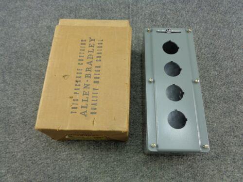 New Unused Ab Allen-bradley 800t-4tz Die Cast Enclosure 4 Unit Series M