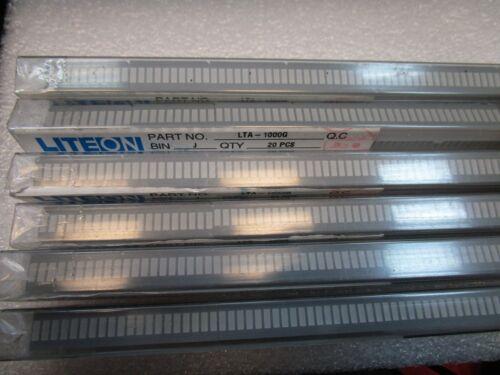 LOT X120  LTA-1000G  Lite-On   LED BAR GRAPH 10-SEGMENT GREEN