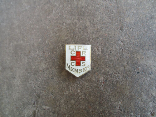 WWI Canadian Red Cross Service Member sterling pin