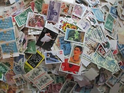 1000+ US MIXTURE STAMPS OfF PAPERS FREE SHIPPING/////////