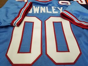 #00 Houston Oilers FOOTBALL JERSEY Name&Number sewn ON.3XL,4XL,5XL 6XL 7X