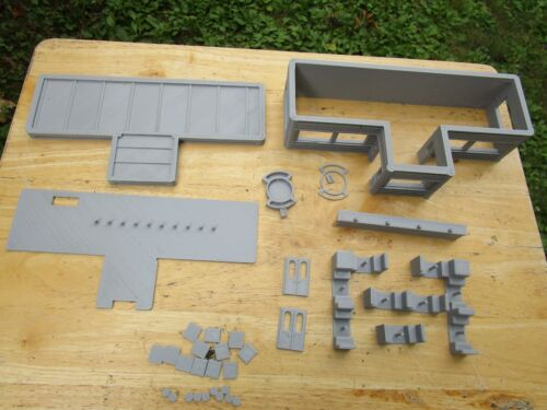 """(1) """" S """"  SCALE    DINNER / GRILL /  CAFE   L@@K   3D  PRINTED  1/64  1:64"""