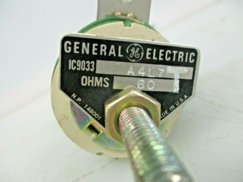 GENERAL ELECTRIC 60 OHMS RESISTOR IC9033 A4L7