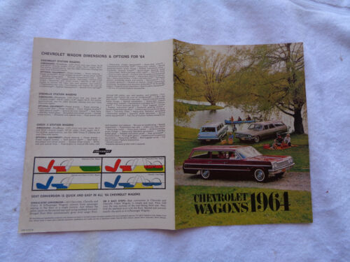 1964 Chevrolet Wagons sales brochure