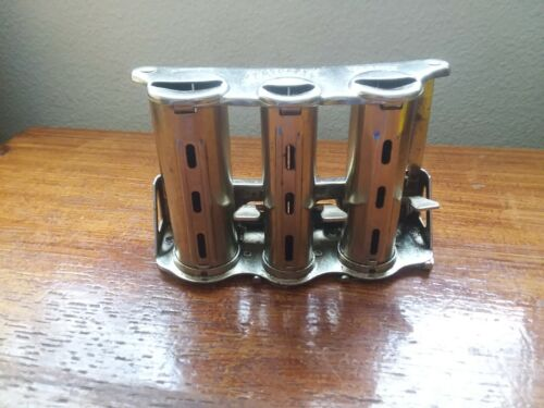 VINTAGE Mc GILL PARAGON CHANGER Metal Coin Change Holder Dispenser BELT CLIP USA