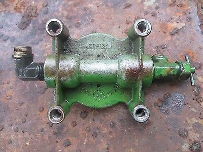 1978 john deere 8430 4x4 diesel farm fuel filter base housing 204163 free  ship