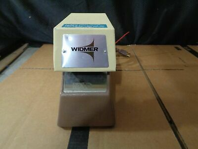 Model T-3 Electronic Time Date Stamp By Widmer W Key Need Ink