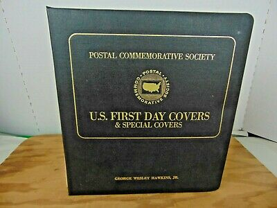 Society Cover - 1980 Postal Commemorative Society US First Day and Special Covers - 17 pages
