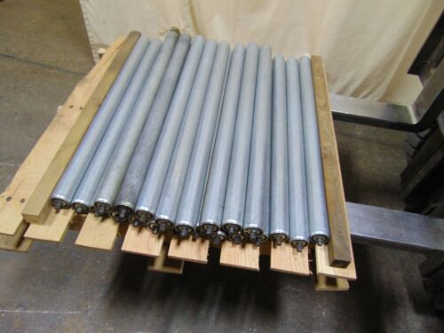 22 Pcs Gravity Roller Conveyor Rollers - Build Your Own Conveyor - Replacements