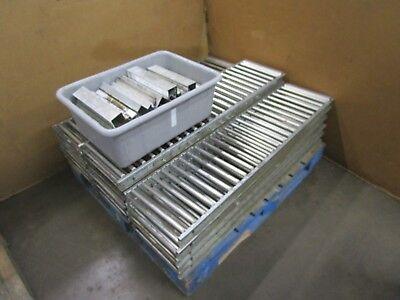 Unex Span-track 47.5x12 Aluminum Carton Box Gravity Flow Conveyor Lot Of 16