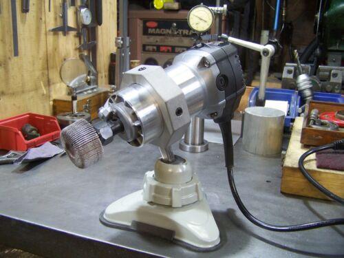 Bench grinder deburr polish jeweler watchmaker