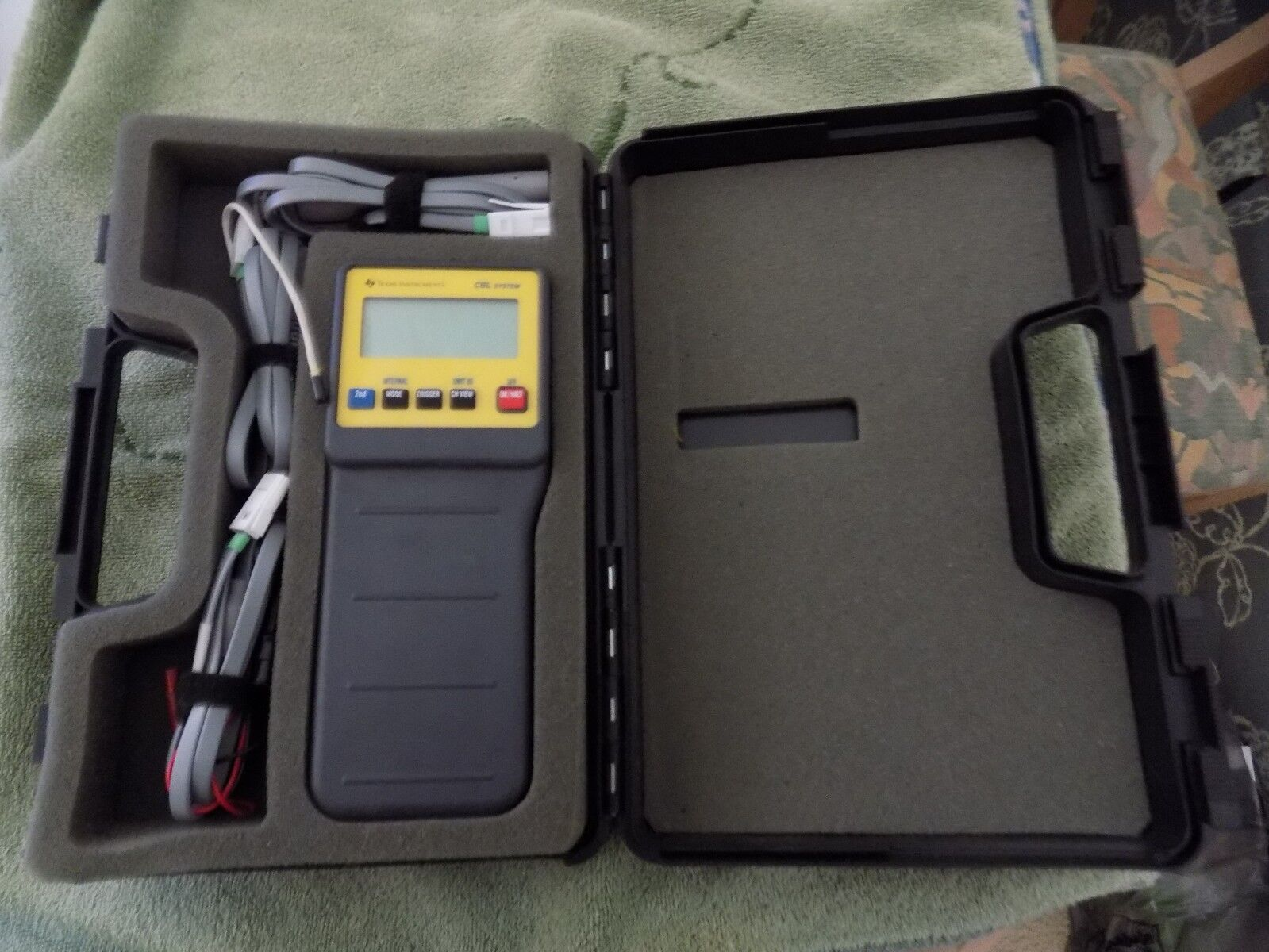 Texas Instruments CBL System With Carrying Case