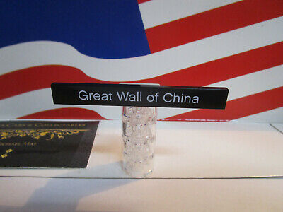 LEGO ARCHITECTURE GREAT WALL OF CHINA (1) 1x6  BLACK PLATE/TILE
