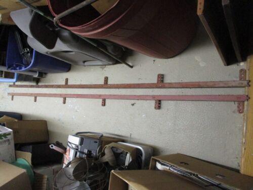 Antique Barn Door Track for Sliding Door Rollers Hangers 20ft Nib & Notch 2x10