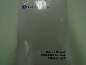 2007 honda element service manual pdf