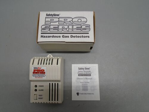 New Safety Siren Detector, 3-in-1, Carbon Monoxide, Propane, Methane, HS80504