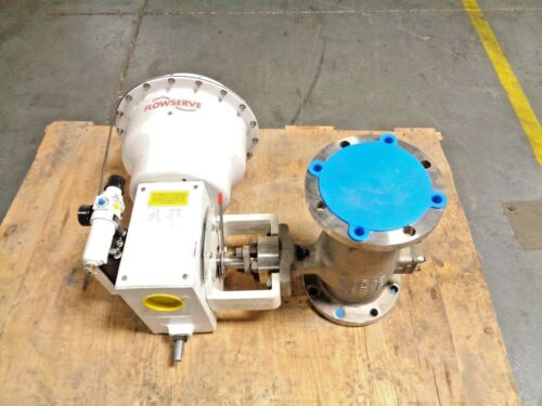"""6"""" Valtek MAXFLO 3 150# Stainless Actuated Control Valve Logix 520MD NEW (B)"""