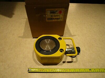 Enerpac Rsm-750 Hydraulic Cylinder Flat-jac 75 Ton 58 Stroke