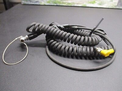 Trimble Gps Laser Technology Coiled Gis Data Cable Pn 32287-10