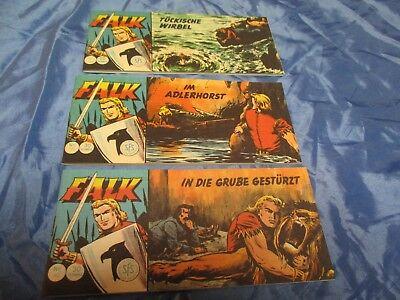 FALK , Piccolo Comics , Nr. 38 + 39 + 40 , Sammlerausgabe 1993 , Nostalgie Comic