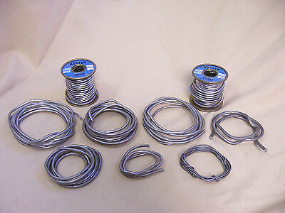 Lot 3lbs Thick Solder Wire Kester .125 4060 Alloy Thick Solid Tin Lead No Flux