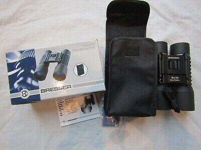BRESSER PRISMATIC BINOCULARS 10 X 40 boxed / never used