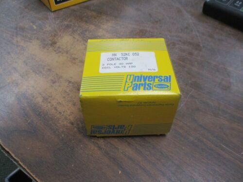 Carrier Contactor HN 52KC 052 120V Coil 30A 2P New Surplus