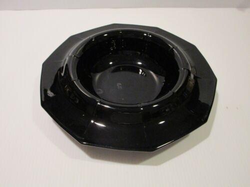 Vintage Cambridge Decagon Ebony Centerpiece Bowl