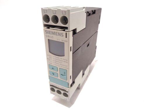 Siemens Sirius 3UG4614-1BR20 Monitoring Relay 4A 3~ 160-690V
