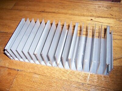 Large Flat-bottom Aluminum Heatsink 10 X 4 18 X 2 38 25 X 10.5 X 6 Cm