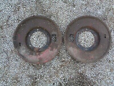 Ford Tractor 8n Brake Drum Dust Shield L-r