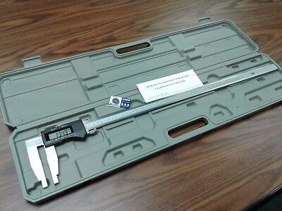 24600mm Electronic Digital Caliper Heavy Duty Long Jaw-x-large Screen