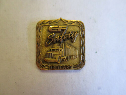 CCX Inc 12yr Trucking Truck Driver Employee Safety Award Pin