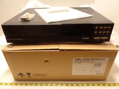 New Philips Time Lapse Recorder Ltc 392460 Video Cassette Vhs New Old Stock Cs2