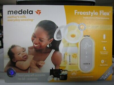 Medela FreeStyle Flex Double Electric 2-Phase Breast Pump 101037980 NEW SEALED