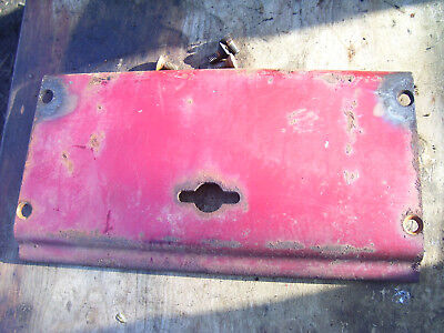 Original Ih Farmall 504 Gas Tractor -front Housing Cover Plate -1962