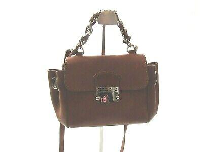 ERMANNO Ermanno Scervino Leather Crossbody Handbag