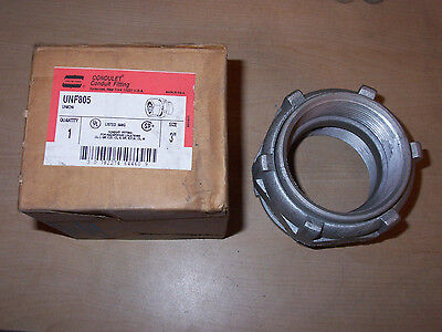 New Crouse Hinds Unf805 Explosion Proof 3 Condulet Conduit Straight Fitting