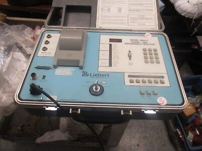 Liebert Model 3600a Power Line Disturbance Monitor. Cables Pictured Key